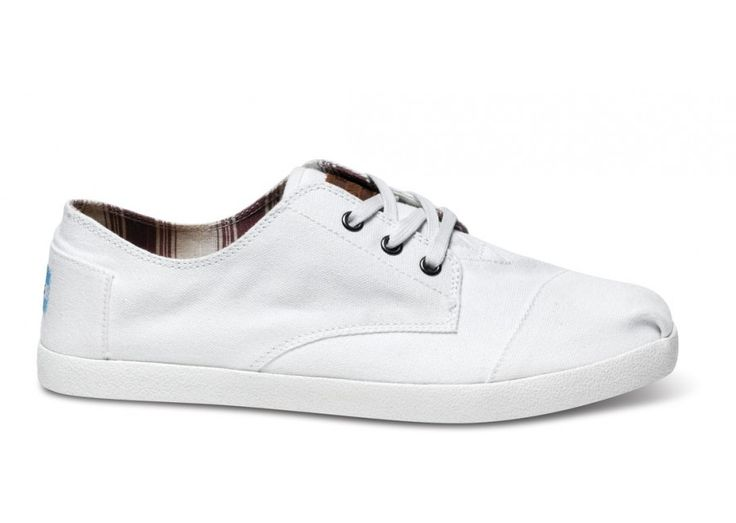 White's not just for brides anymore // Pair a crisp pair of #TOMS #Paseos with a bow tie & blazer