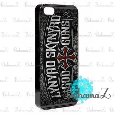 New Rare Lynyrd Skynyrd God Guns Rock Band Legend iPhone 5 5S Case | Bahamaz - Accessories on ArtFire