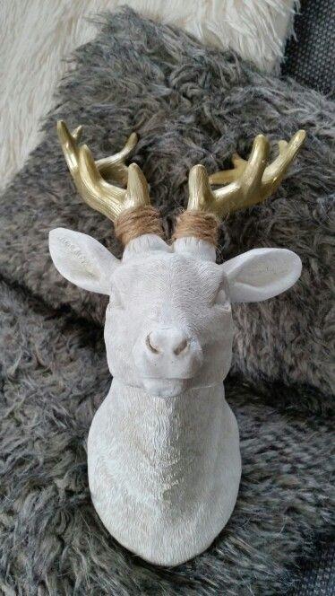 Hertje #goud#touw#kerst