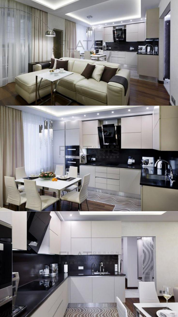Кухня-столовая-гостиная