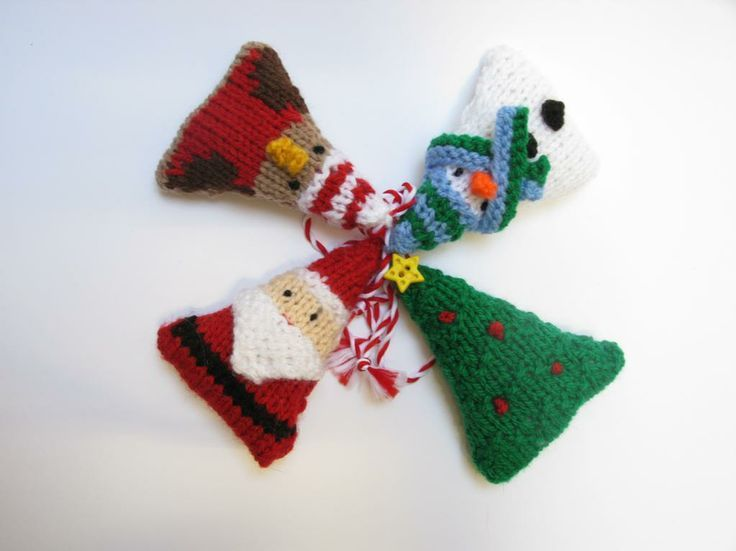 77 Best Knitting Christmas Ornaments Images On Pinterest Christmas