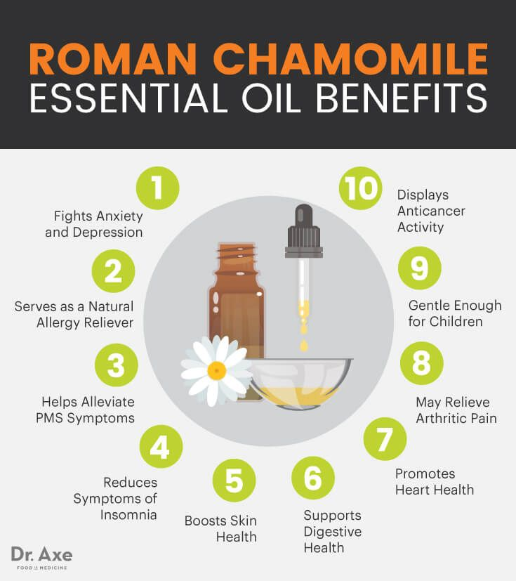 Roman chamomile essential oil benefits - Dr. Axe http://www.draxe.com #health #holistic #natural