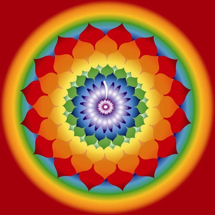 Mandala, Tunel de buena energía