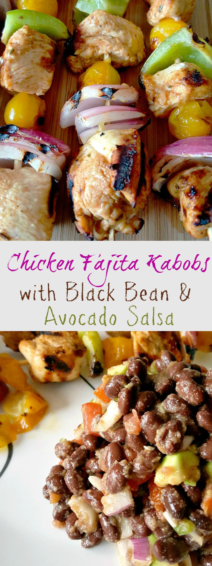 Chicken Fajita Kabobs - Taste just like my favorite restaurant fajitas!