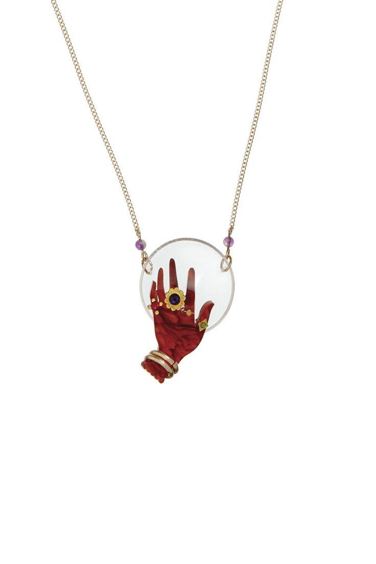 Fortune Teller Necklace, £50: http://www.tattydevine.com/fortune-teller-necklace.html