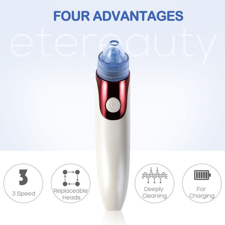 US Ship Blackhead Vacuum Acne Remover Cleaner Face Facial Pore Cleanser Machine #ETEREAUTY