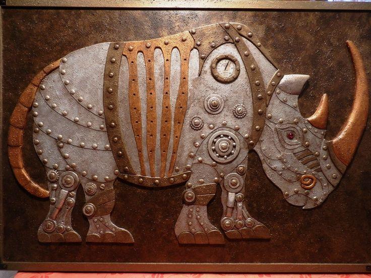 Steam Powered Rhino