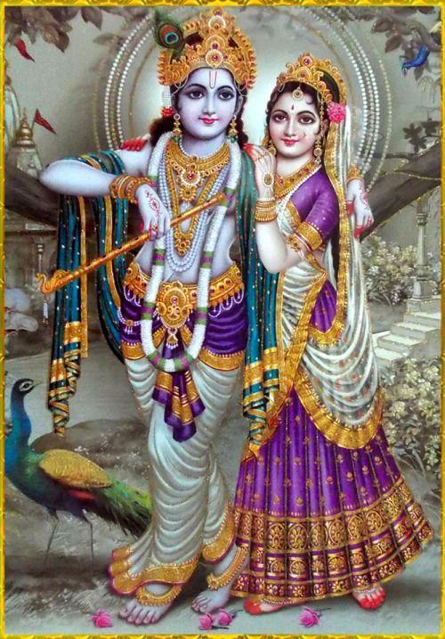 ✨ RADHA KRISHNA ✨ Artist: Yogendra Rastogi Hare Krishna Hare Krishna Krishna Krishna Hare Hare Hare Rama Hare Rama Rama Rama Hare Hare