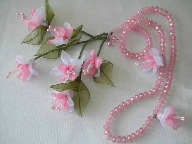 güllü çiçekli tesbih yapıyoruz (mayıs ayı etkinligim) - Aksesuarlar(paspas -battaniye-çanta vb)