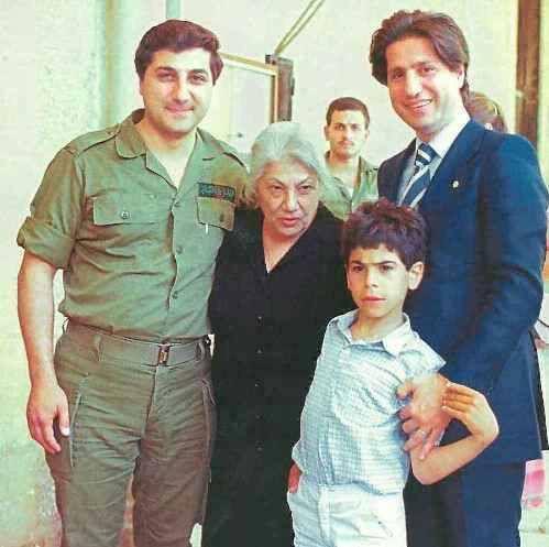 Sheick Bachir, Amine, and Pierre Gemayel