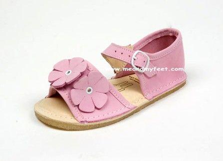 Bear Feet Bubble Gum Flower Power Sandals $79.50 http://www.meandmyfeet.com/product/BFSFPBUBB #Bear #Feet #Bubble #Gum #Flower #Power #Sandals #Kids #Girls #Shoes #Pink