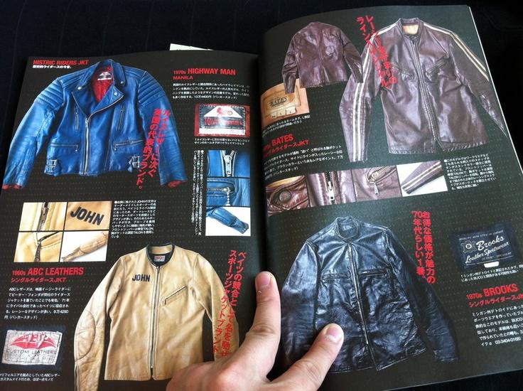 Lightning Magazine pages | Highway Man, ABC Leathers, Bates, Brooks