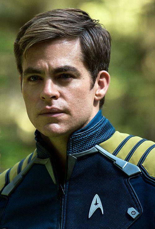 Chris Pine as Captain James T. Kirk