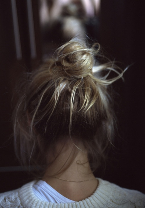 : Messybuns, Fashion, Hairstyles, Hair Styles, Makeup, Messy Buns, Top Knot, Beauty, Hair Color