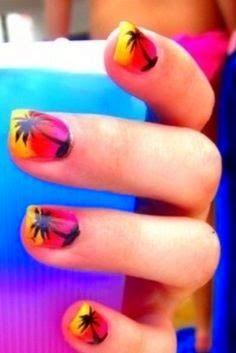 summer nail designs, summer design nails, nails designs for summer
