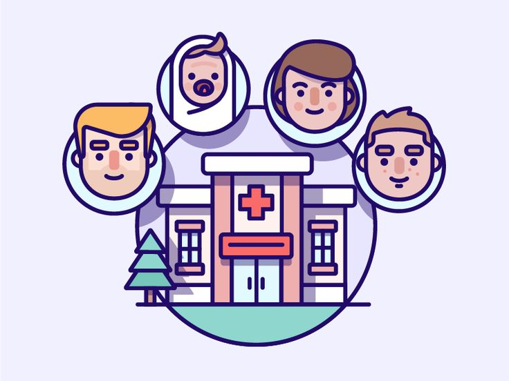 The more detailed set created for a Medical clients iOS app.  The illustration is displaying: 'Connecting all your medical data'  Keen to hear your thoughts and don't forget to click L