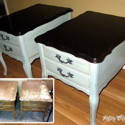"A Collection of ""Before & After"" Furniture Pieces"