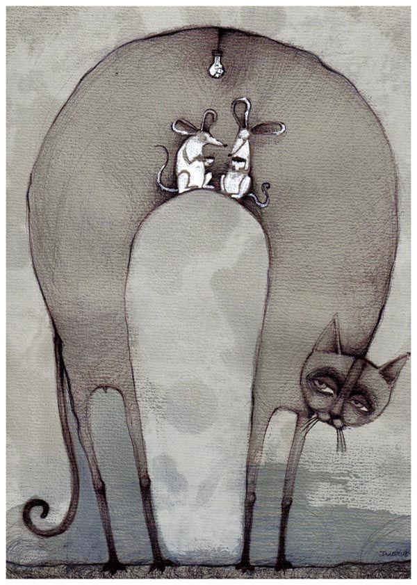Illustrations by Polish Artist Agata Dudek aka Krecha