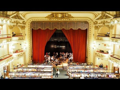 """The theme of the month: February - """"Do"""" - get inspired:  Watch, learn and listen how to get a inspired. Visit the Welum Flash Channel and also read the article. Librería El Ateneo  http://welum.com/…/libreria-el-ateneo-grand-splendid-books…/  #bookstore #oldtheatre #theatre #liberiaelateneo #buenosaires #agentina #reading #libreriaelalteneograndspendid #sustainability #welum #welumflash #readonwelum #welumconscious #conscious #careandshare #weluminize #powerofsharing"""