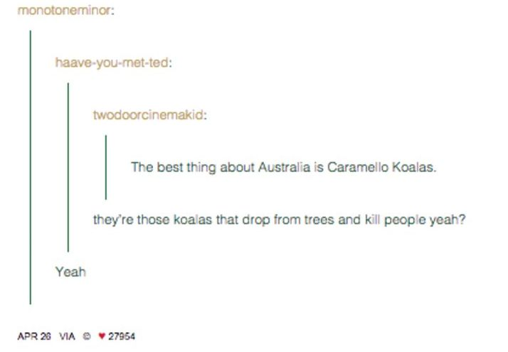 If they don't make you laugh, are you even Australian?