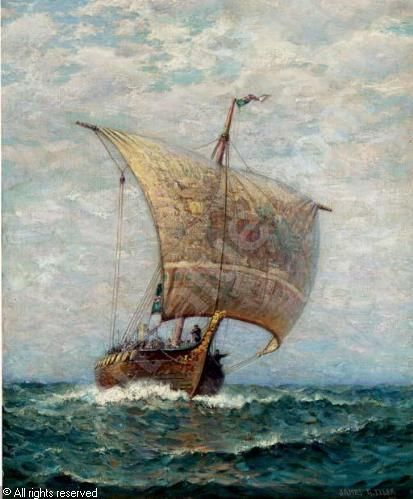 Jonas Lie Painting Google S 248 K Vikinger