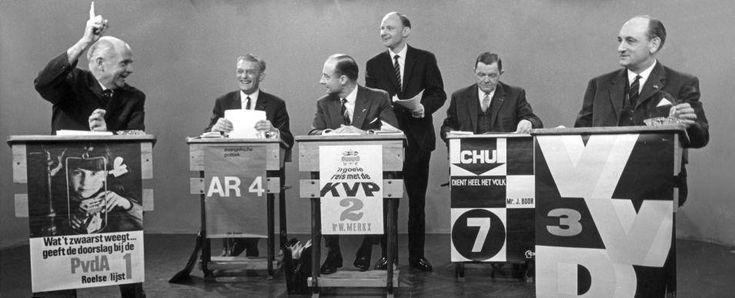 """I did it !""  https://flic.kr/p/8ACKkJ  Election debate   Nationaal Archief / Spaarnestad Photo / Anefo / Kroon"