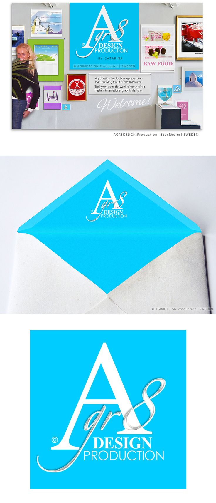 CASE | Logo . Website - HTML . Graphic Profile | ☆ Agr8Design ☆
