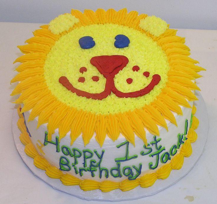 Best 25+ Lion Birthday Cakes Ideas On Pinterest