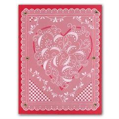 Heart Swirl Groovi Card