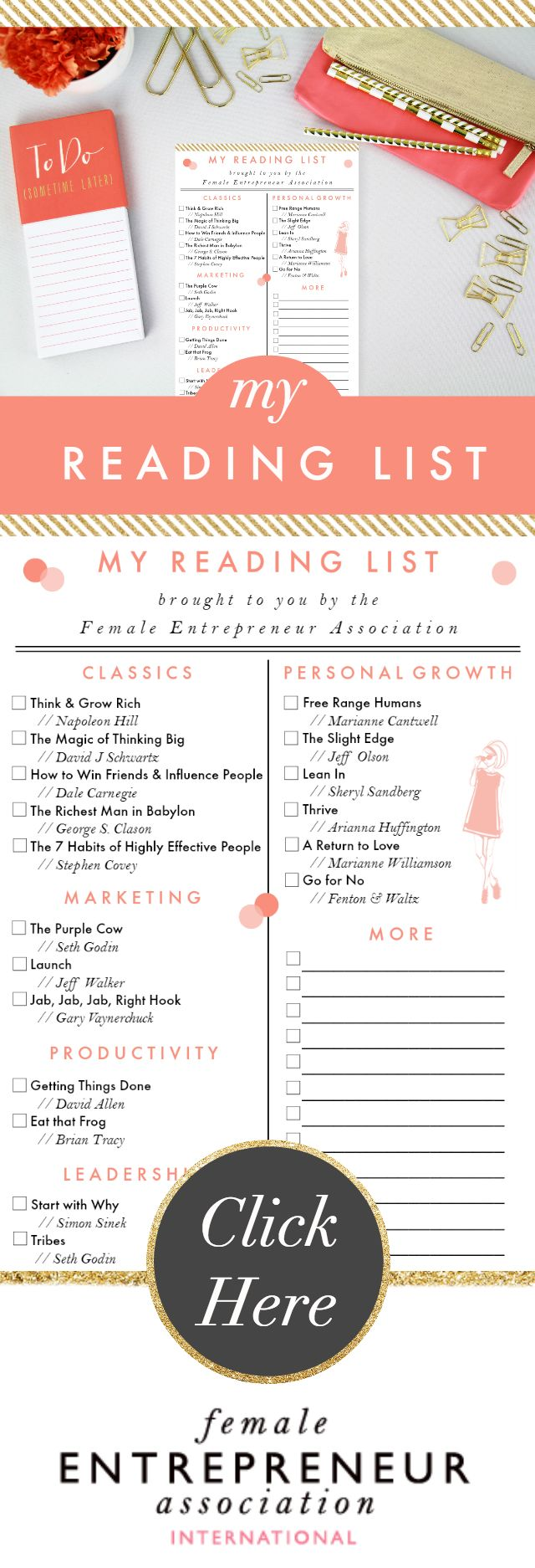 We have a cute printable check-list of incredible books for you. It has space for you to add your own personal list as well.