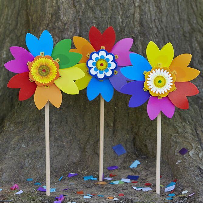Fiorello fairy garden.....#whirlywindmills #rainbow #fairy #garden #colour #pinwheel