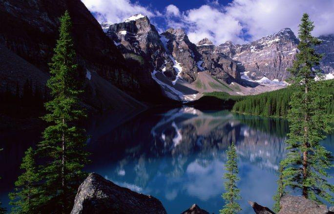Lugares mais lindos do mundo: Moraine Lake, Canadá