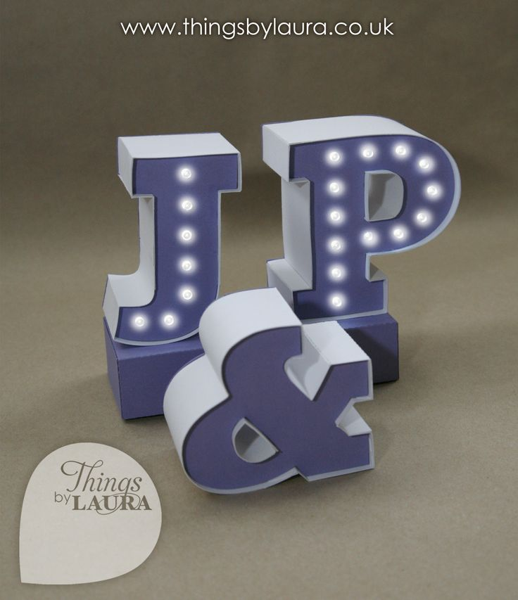 Wedding Cake Toppers Letters Uk : Mini fairground/marquee/carnival light up letters for ...