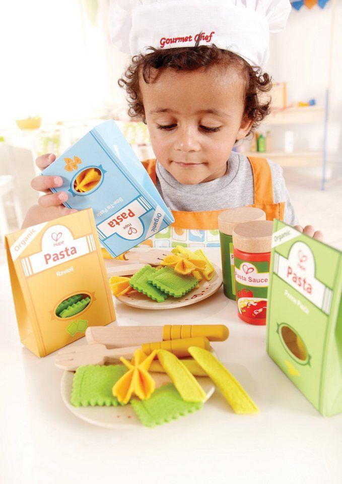 Perfekt geeignet als Ergänzung für jede Kinderküche, denn Kinder lieben Nudeln! Das 33-teilige Pasta-Set aus dem Hause Hape !