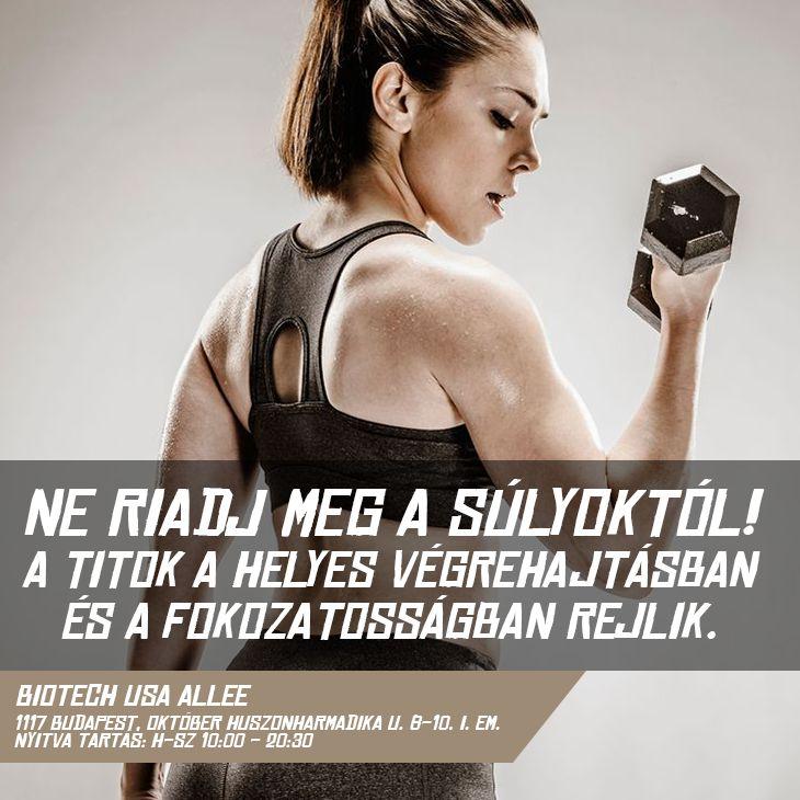 NE FÉLJ A SÚLYZÓS EDZÉSEKTŐL! A megoldás: figyelj a fokozatosságra és a tested üzeneteire! Először kis súlyokkal és ismétlésszámmal dolgozz, és ezt emeld addig, amíg úgy érzed, hogy az edzés igénybe veszi, de nem terheli túl az izomzatodat és az ízületeidet!