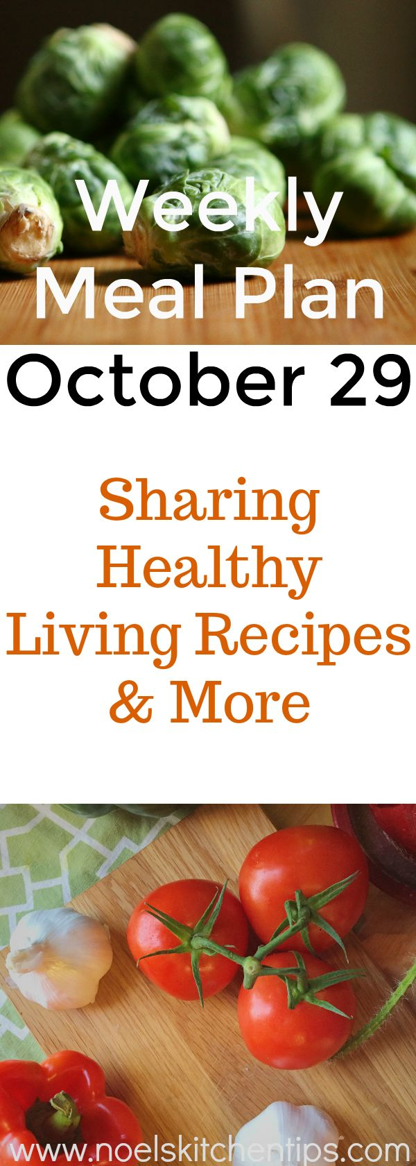 Our Weekly Meal Plan October 29 shares our quick and easy meals along with a little bit of Halloween fun.