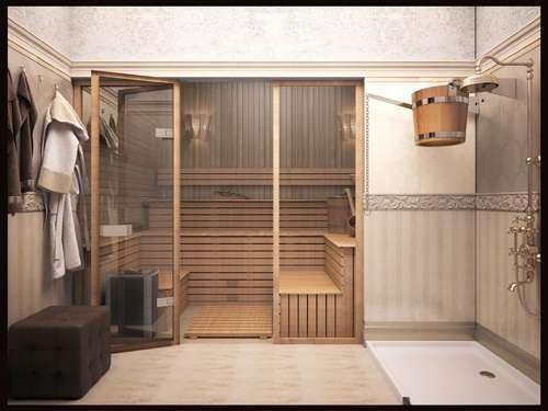 сауна в доме интерьер - Поиск в Google