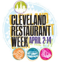 Starting today, Cleveland Restaurant Week will last until April 14 (excluding Easter Sunday). About 60 restaurants are taking part in the festivities, spanning from Mentor to Akron.