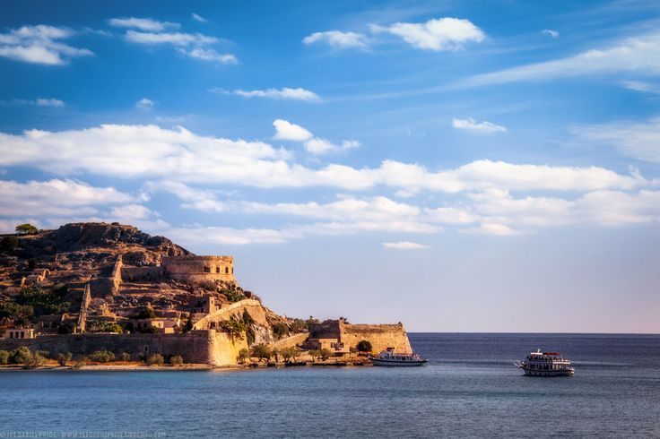 Boat Rides to the Leper Island of Spinalonga, Plaka, Crete, Gree by Joe Daniel Price on 500px