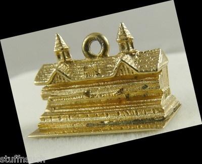 Vintage Charm 14k Gold, Churchill Downs Kentucky Derby   eBay