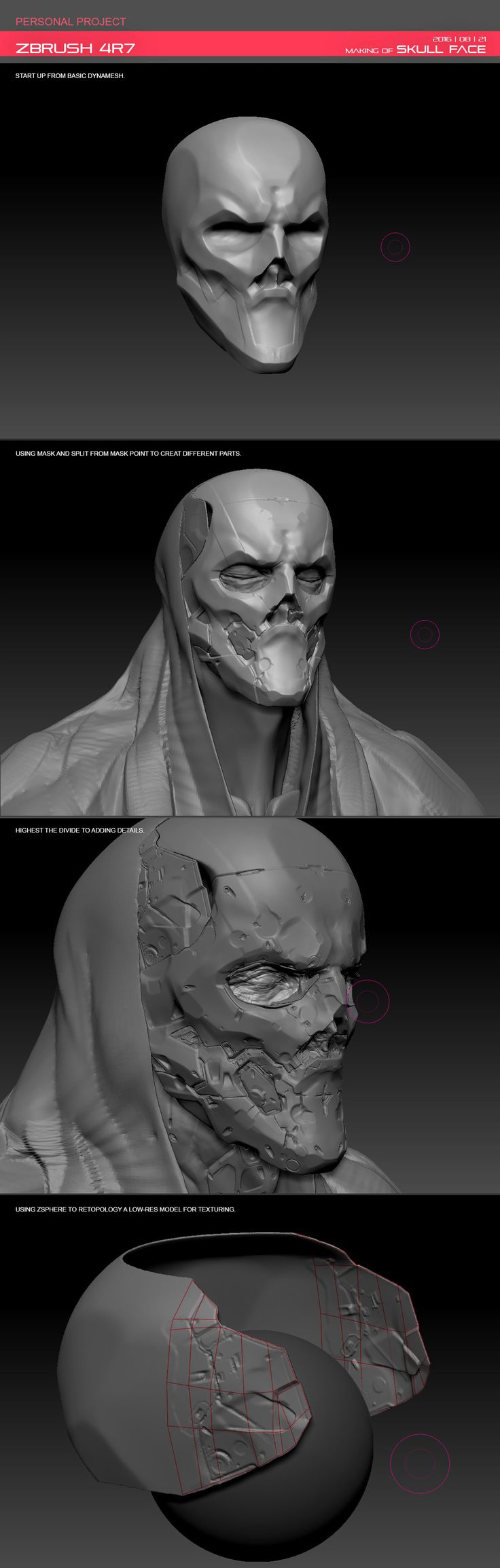 3D practice, using substance painter and zbrush. :)