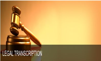 Legal transcription is form of transcription which includes listening to dictations from attorneys, law professionals and keying them into a legal document form in order to maintain an organized and detailed legal records.