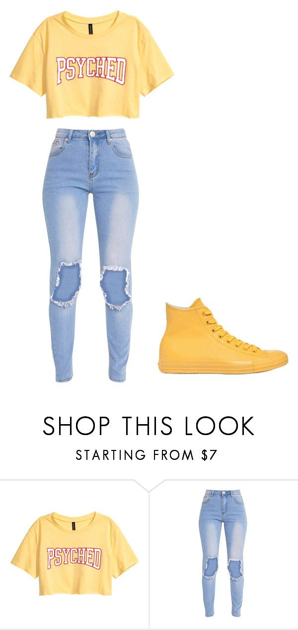 """""""Untitled #354"""" by thenerdyfairy on Polyvore featuring Converse"""