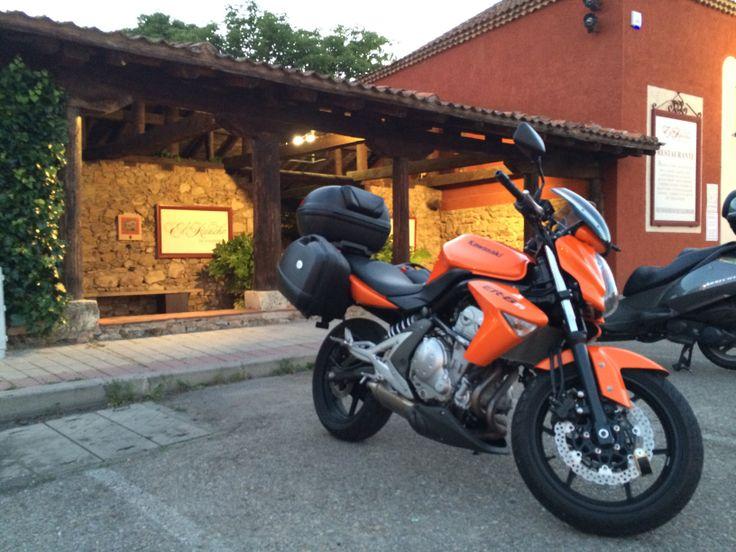 Kawasaki ER-6n por Torrecaballeros (Segovia)