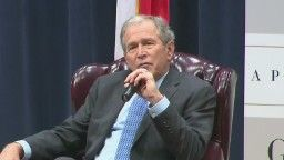 Former President George W. Bush said Tuesday that he wanted to publish his a personal biography about his father, former President George H.W. Bush.