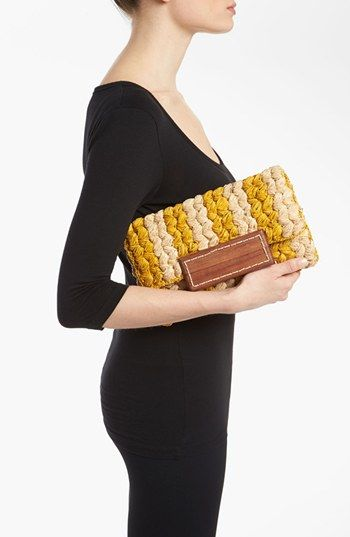 LOVE this braided clutch!!!!