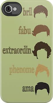 brilLiam, fabuLouis, extraordinHarry, phenomiNiall, amaZayn(: