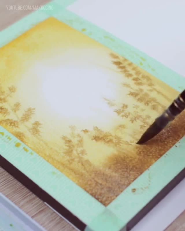 """""""Being in sync with watercolor requires a confiden…"""
