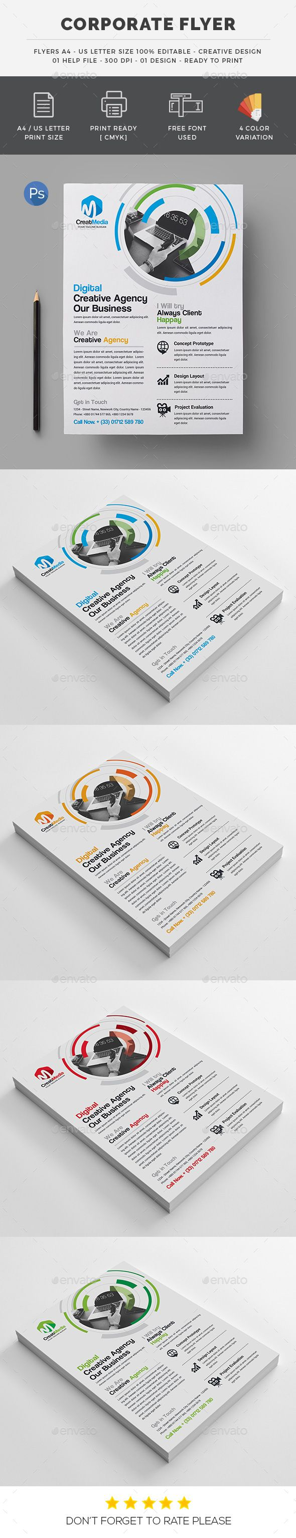 The 7 best flyers images on pinterest flyer template promotional business flyer fandeluxe Image collections
