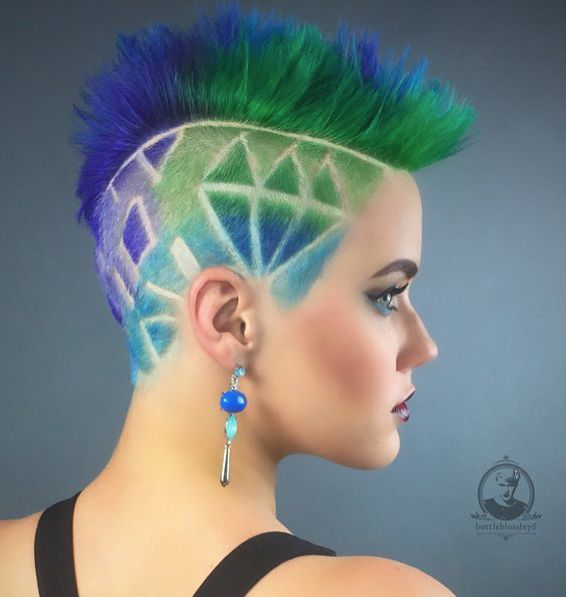 """PRAVANA introduced three NEW shades to its VIVIDS hair colour line. Inspired by nature's brilliant gemstones, VIVIDS Jewels allows for the creation of bold, beautiful hues, including the trendy """"oil slick"""" look."""